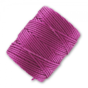 Fil C-LON Tex 400 Bead Cord 0,90 mm Light Magenta x 35 m