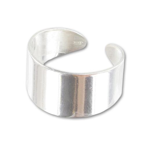 Bague large sans anneau en argent 925 x1 perles co for Quelle entreprise creer sans argent