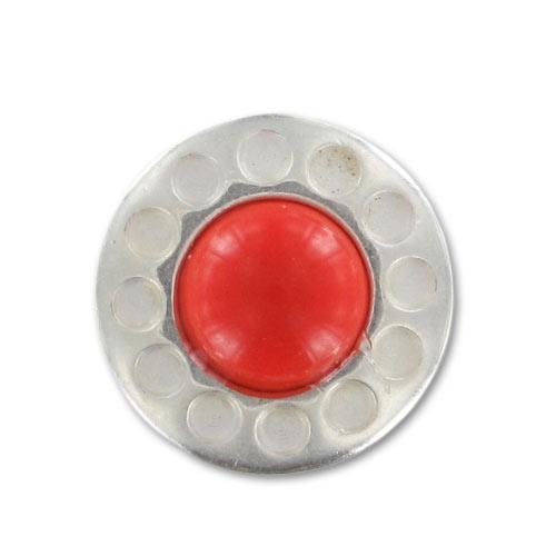 mini bouton pression pour bracelet en cuir 12mm imitation corail x perles co. Black Bedroom Furniture Sets. Home Design Ideas