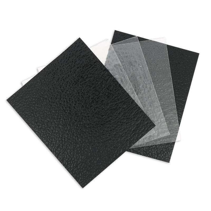 assortiment de plaques de verre coe90 10cm noir op trans. Black Bedroom Furniture Sets. Home Design Ideas