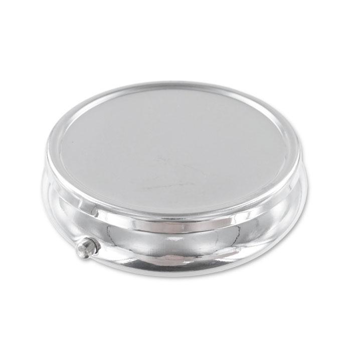 Bo te ronde pour pilules 50 mm en m tal perles co for Boite ronde a decorer