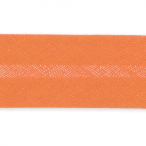 Biais thermocollant 20 mm Orange x 2m