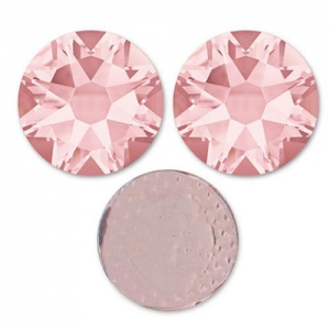 Strass Hotfix Swarovski 7 mm Blush Rose x12