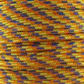 Parachute Cord 2,5 mm Yellow/Orange x1m