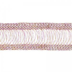 Tissage Wire Luxe 20 mm Rose x 23cm