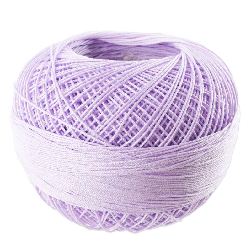 fil de coton lizbeth taille 40 light purple iris n 646. Black Bedroom Furniture Sets. Home Design Ideas