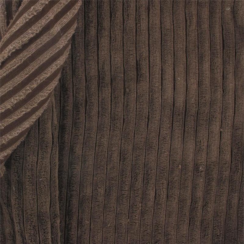 tissu velours minky c tes marron x10cm perles co. Black Bedroom Furniture Sets. Home Design Ideas