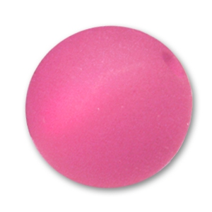 Perle ronde Polaris 10 mm Indian Pink x1