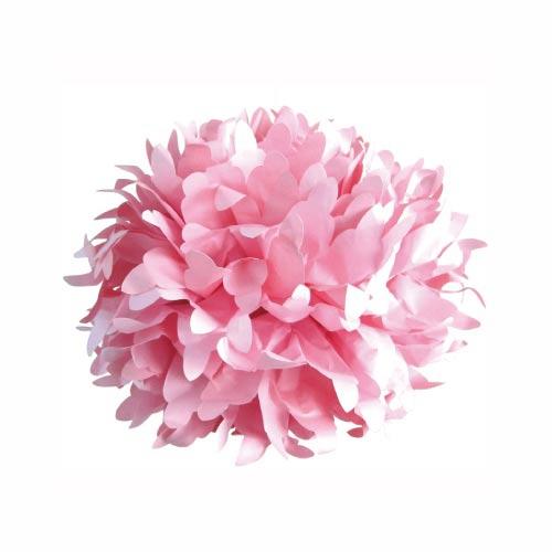 boule en papier de soie 30cm rose x1 artemio perles co. Black Bedroom Furniture Sets. Home Design Ideas