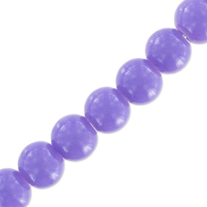Rondes imitation gemme 6 mm Tanzanite x130