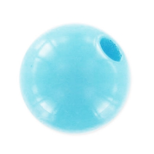 Perle ronde Polaris opaque 8 mm Light Turquoise x1