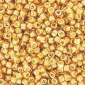 Miyuki Delicas 11/0 DB0410 - Galvanized Yellow Gold x8g