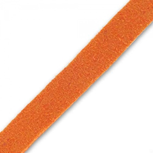 Lacet Suedine 6x1.3 mm Orange x 2 m