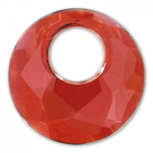 Pendentif Victory Swarovski 6041 18 mm Crystal Red Magma x1