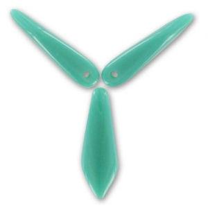 Dagues 5x16 mm Green Turquoise  x50