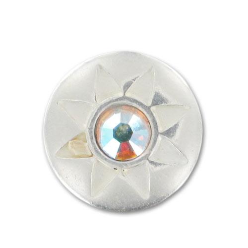 mini bouton pression swaro pour bracelet en cuir 12mm crystal ab x perles co. Black Bedroom Furniture Sets. Home Design Ideas