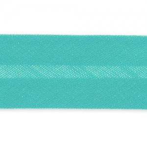 Biais thermocollant 20 mm Green Turquoise x 2m