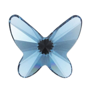 Papillon Swarovski 2854 12 mm Denim Blue x1