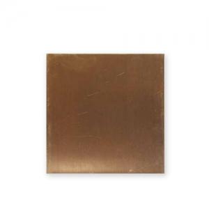 Plaque de laiton naturel vintaj 7 6x7 6 cm x1 embossage - Plaque de laiton ...
