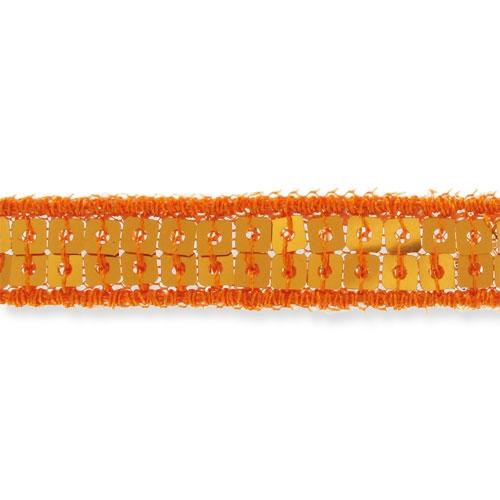 ruban paillettes 10 mm orange x 1m perles co. Black Bedroom Furniture Sets. Home Design Ideas