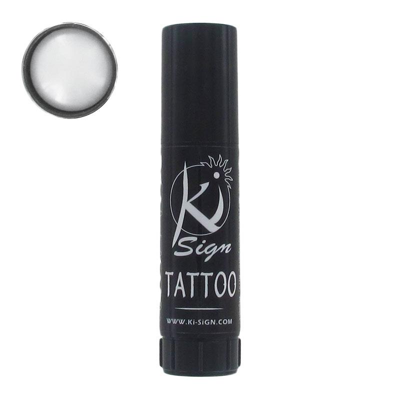 encre cosmétique pour tatouage temporaire nacre blanc - perles & co