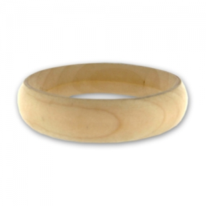 grosses soldes Braderie doux et léger Bracelet fin 18 mm en bois brut Medium à personnaliser et décorer x1