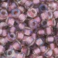 Rocaille Toho 15/0 TO15R267 - Crystal Rose Gold Lined x8g