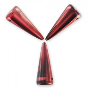 Spikes  7x17 mm Magic Red Brown x6