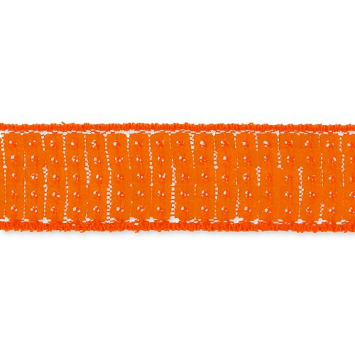ruban paillettes 20 mm orange fluo x 1m perles co. Black Bedroom Furniture Sets. Home Design Ideas
