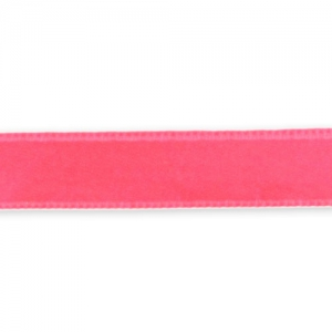 Ruban Satin 10 mm Coral Fluo x1m