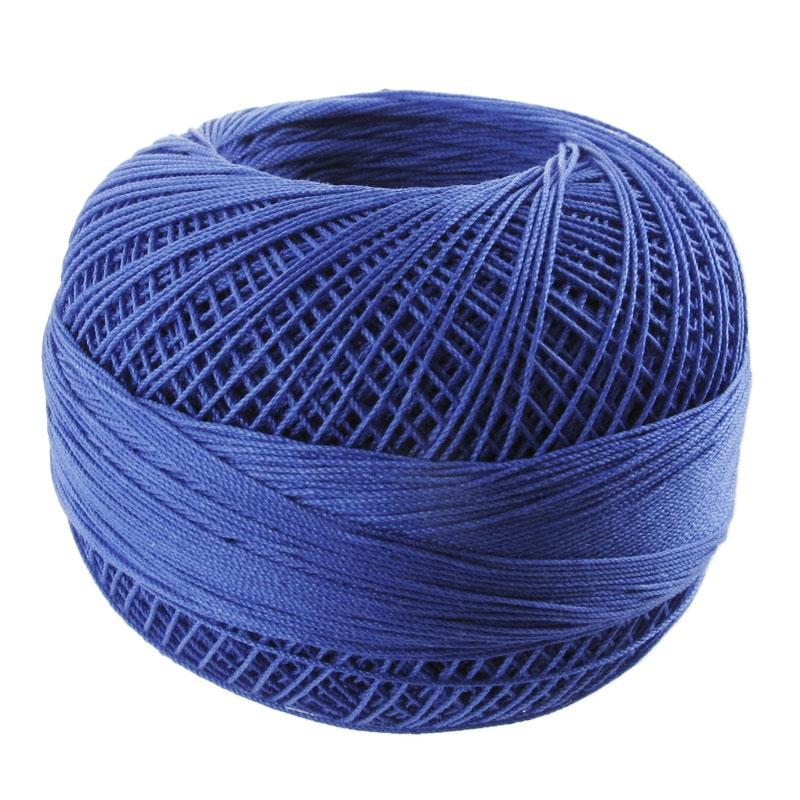 fil de coton lizbeth taille 40 royal blue n 652 x274m. Black Bedroom Furniture Sets. Home Design Ideas