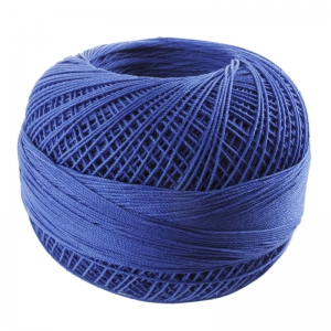 Fil de coton Lizbeth taille 40 Royal Blue n°652 x274m
