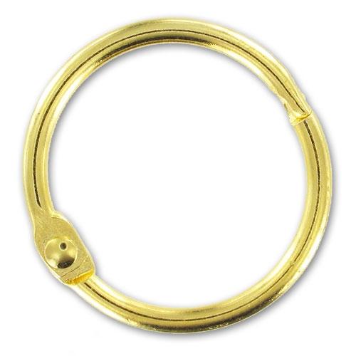 Porte clefs anneau 30 mm dor x1 portes clefs perles co - Porte interieur epaisseur 30 mm ...
