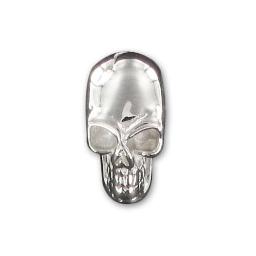 T te de mort 13 5 mm en argent 925 x1 perles co - Chaise tete de mort ...