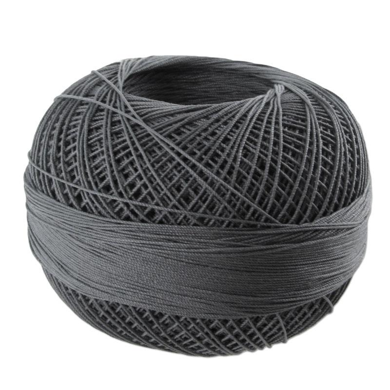 fil de coton lizbeth taille 40 charcoal n 606 x274m. Black Bedroom Furniture Sets. Home Design Ideas
