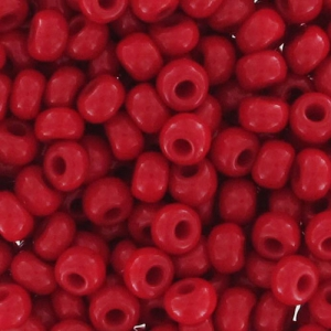 Mini-rocailles 11/0 - 2 mm Red Corail x10g