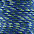 Cordon Paracorde -corde de parachute- 2 mm Blue/Green x1m