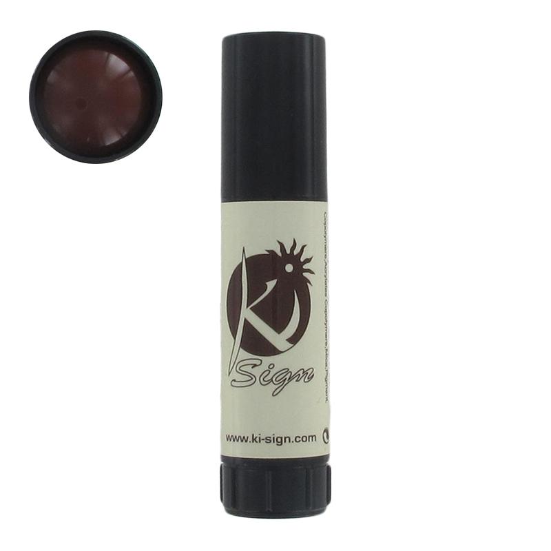 encre cosmétique pour tatouage temporaire marron - perles & co