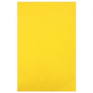 Rectangle de feutrine 3 mm 30x45 cm Jaune x1