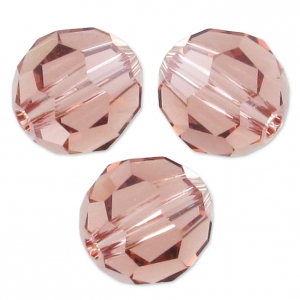 Rondes Swarovski 5000 4 mm Blush Rose x20