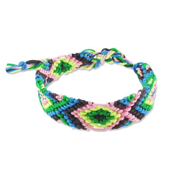 bracelet bresilien tissu