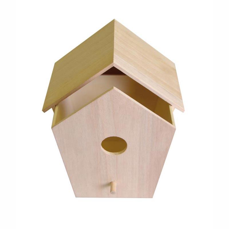 Nichoir tiroir en bois d corer support d corer artemio perles co - Nichoir en bois a decorer ...