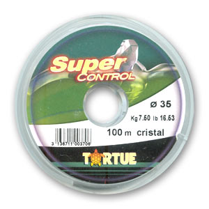 Fil Nylon Tortue Transparent 035 Mm X100 M Perles Co