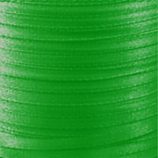 Ruban Satin  4 mm Green x 5 m
