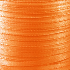 Ruban Satin  4 mm Orange x 5 m