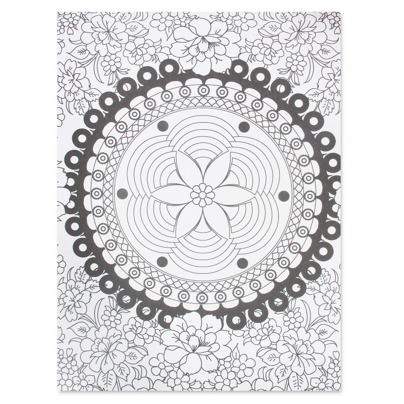 Zen 60 coloriages anti stress perles co - Coloriage therapie ...