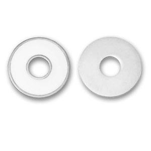 rond r sine poxy 25 mm blanc argent x1 perles co. Black Bedroom Furniture Sets. Home Design Ideas