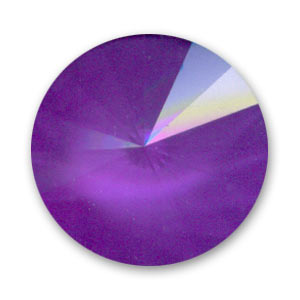 Cabochon Swarovski 1122 Rivoli 18 mm Crystal Ultra Purple