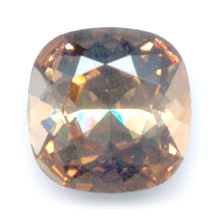 Cabochon Swarovski 4470 12 mm Light Colorado Topaz x1