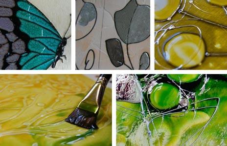 Peinture cerne relief canule argent x20ml p b o perles co - Peinture avec relief ...